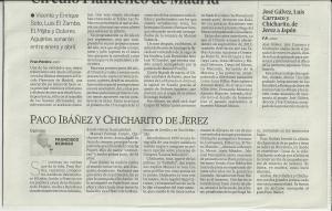 Chicharito y paco Ibañez