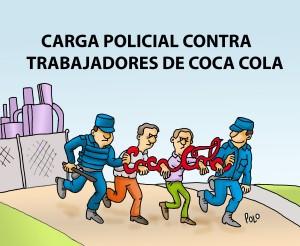 Policias con Coca Cola