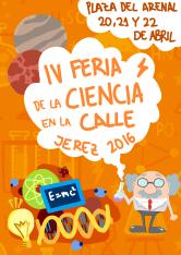 cartel_IV_feria_de_la_ciencia_en_la_calle_en_jerez